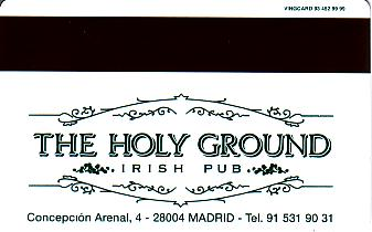 Hotel Keycard Best Western Madrid Spain Back