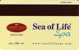 Hotel Keycard Crowne Plaza Dead Sea Israel Back