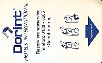 Hotel Keycard Dorint Generic Front