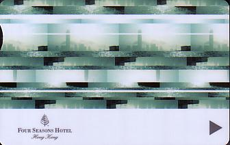 Hotel Keycard Four Seasons  Hong Kong Front