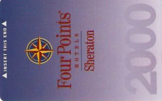 Hotel Keycard Four Points Hotels Generic Front