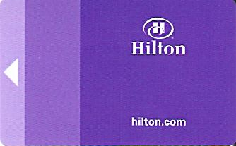 Hotel Keycard Hilton Johannesburg South Africa Front