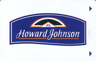 Hotel Keycard Howard Johnson Generic Front