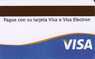 Hotel Keycard Inter-Continental Santo Domingo Dominican Republic Back