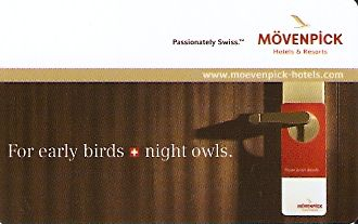 Hotel Keycard Movenpick Generic Front