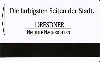 Hotel Keycard Park inn  Dresden Germany Back