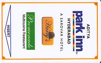 Hotel Keycard Park inn  Hyderabad India Front
