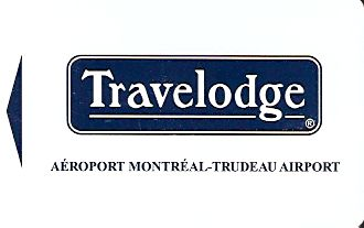 Hotel Keycard Travelodge Montreal Canada Front